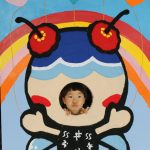 久米島ゆるキャラくーみんになった3歳児