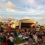 久米島の夏祭り