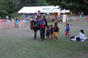 久米島馬牧場乗馬2