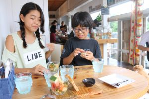 smakaka lunch 喜ぶ姉妹2