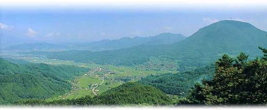 青木村の風景