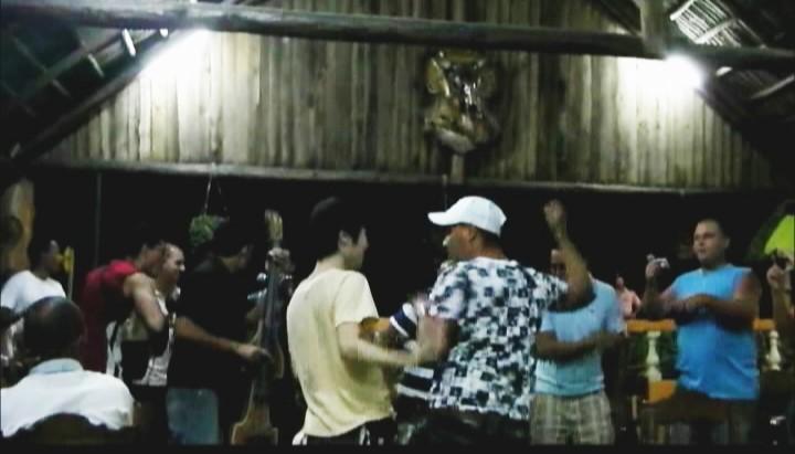キューバでダンス