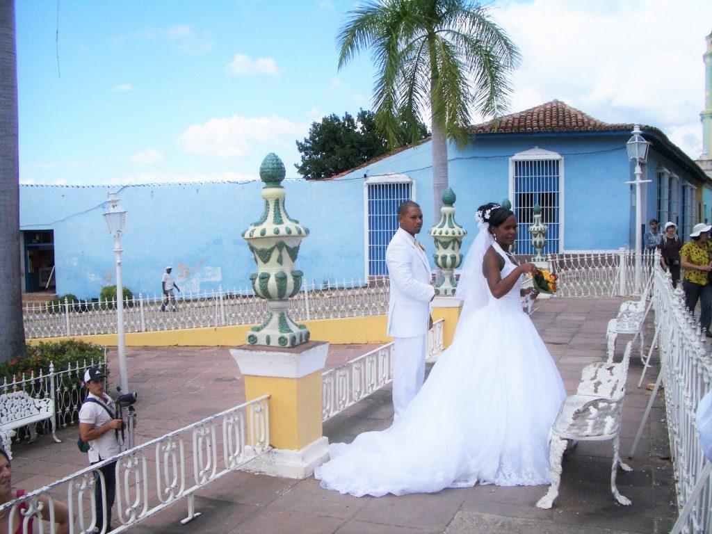 キューバ人夫妻の結婚式