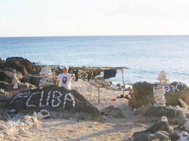 キューバの海岸
