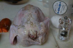 鶏肉ホール