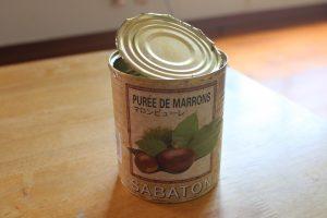 サバトンマロンピューレー缶