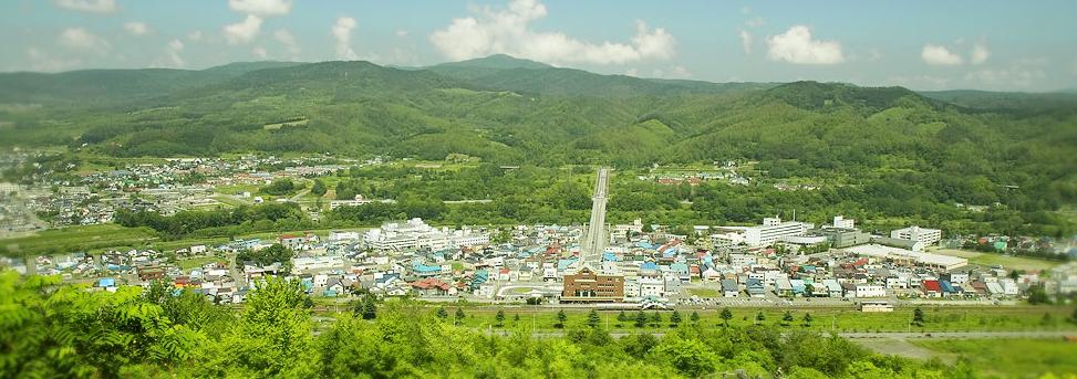 北海道赤平市の風景