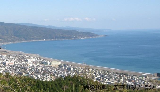 高知県安芸市の風景