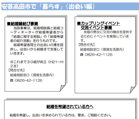 安芸高田市定住ガイドブック