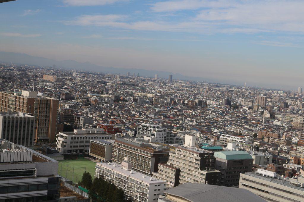 都内を20階から見渡す絶景