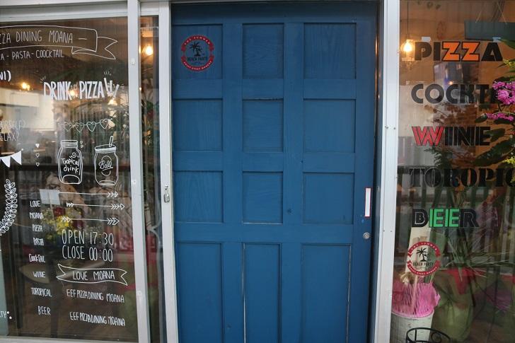 moanaのドア