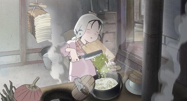この世界の片隅に、料理風景