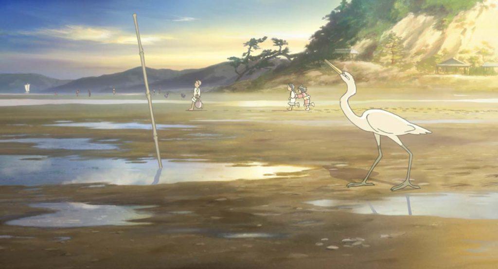 この世界の片隅に、白鷺のシーン