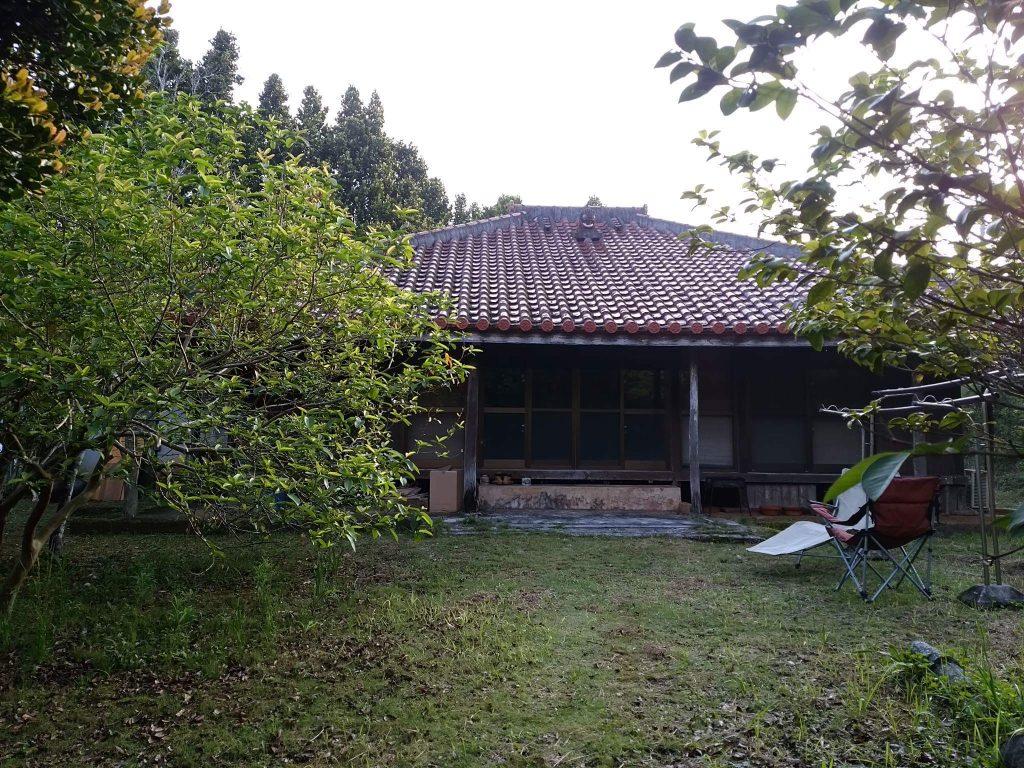 久米島の古民家とお庭
