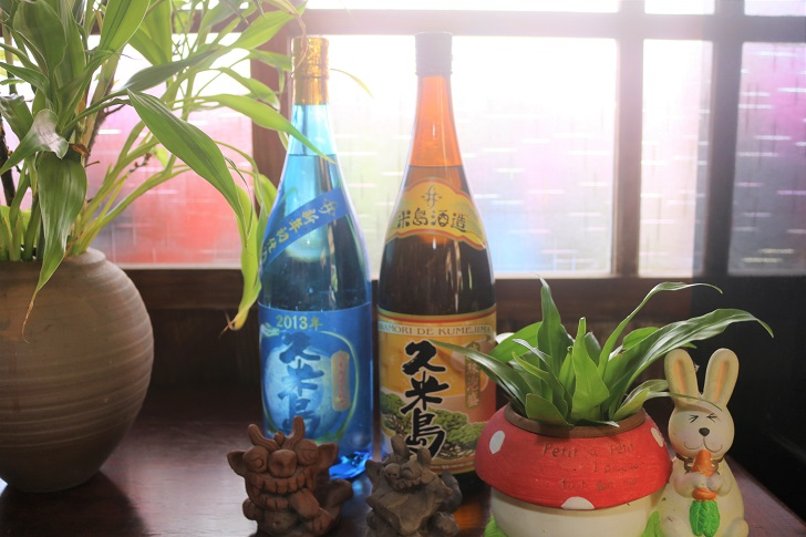 久米島の泡盛2本