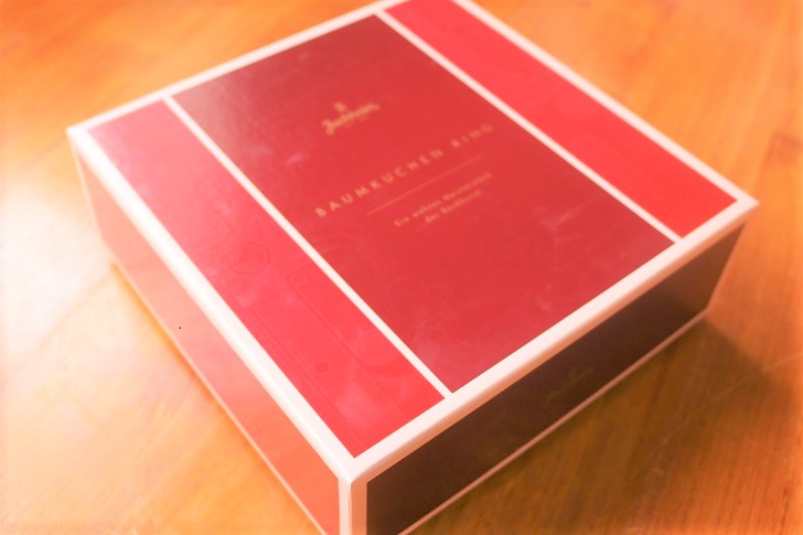 バームクーヘンの箱