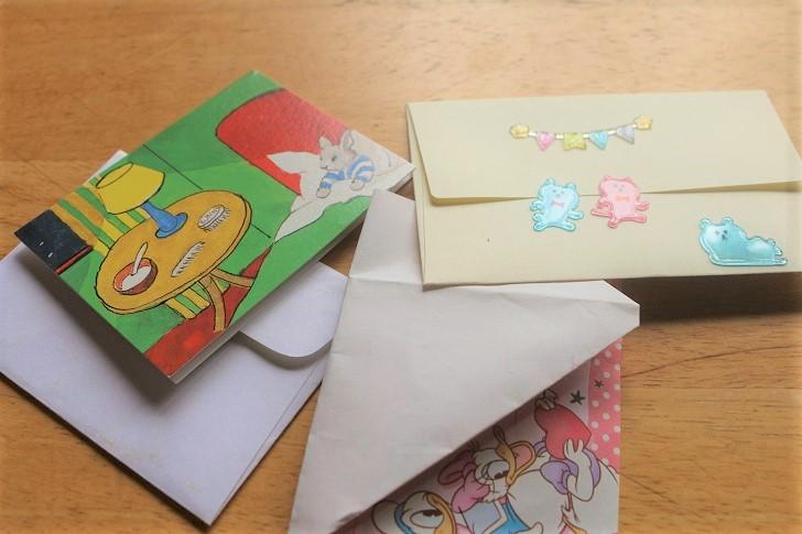 手紙3セット