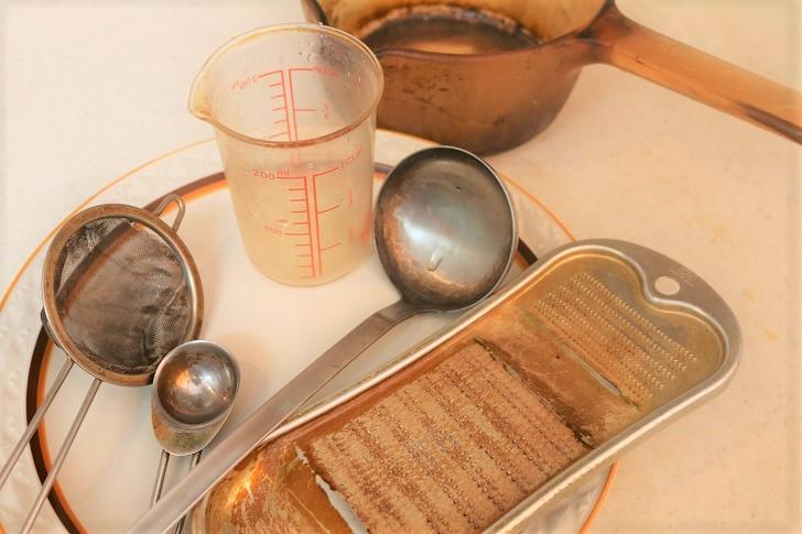 チャイ作りの道具