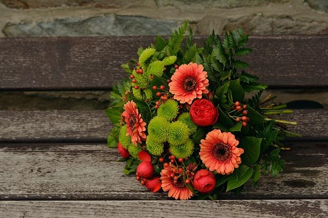 贈り物の花束