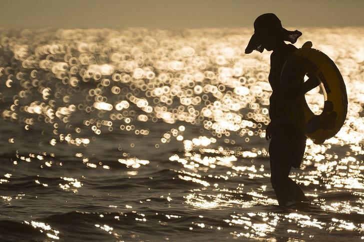 人気が減って寂しいビーチ