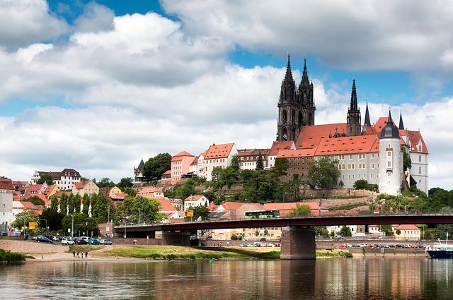 ドイツのマイセン地方のお城