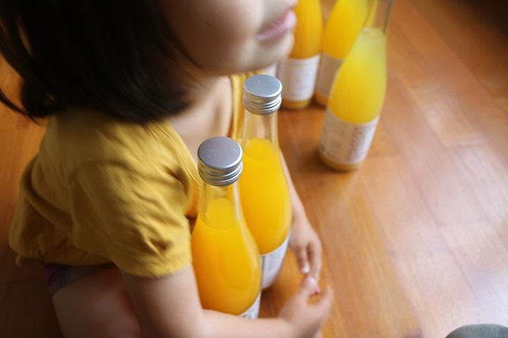 みかんジュースと幼女