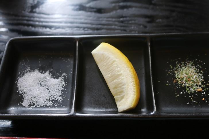 塩とレモンとゆずコショウ