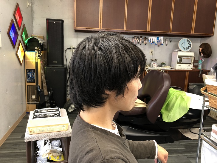 美容師の客
