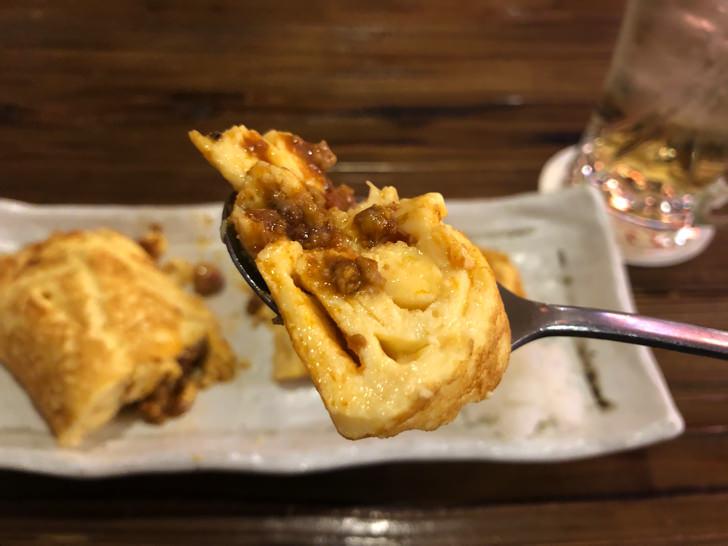 沖縄タコライス卵焼き