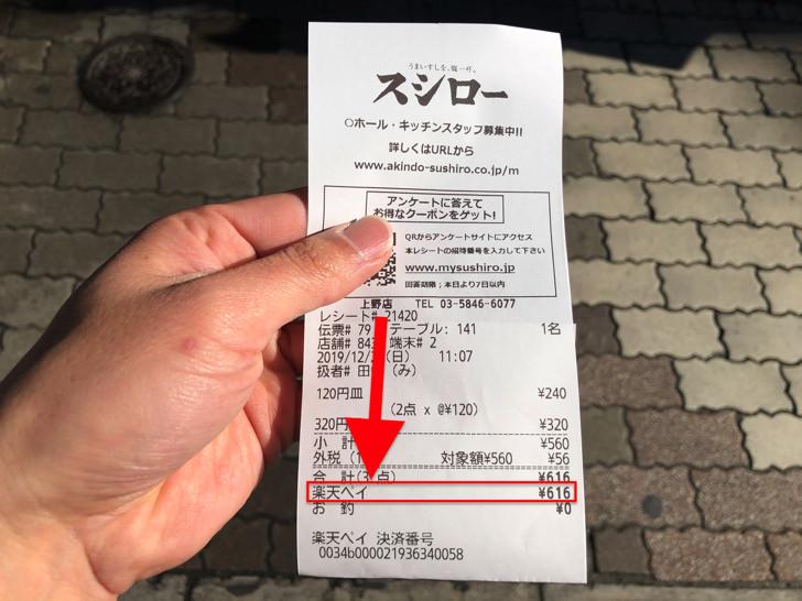 くら 寿司 楽天 ペイ