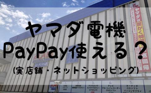 ヤマダ電機PayPay使える