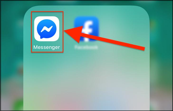 メッセンジャーアプリ