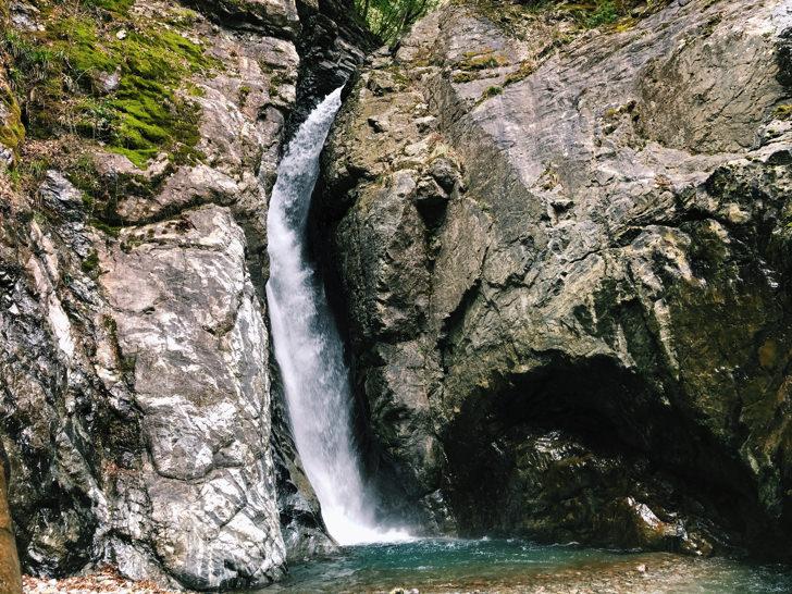 3本目の無名滝