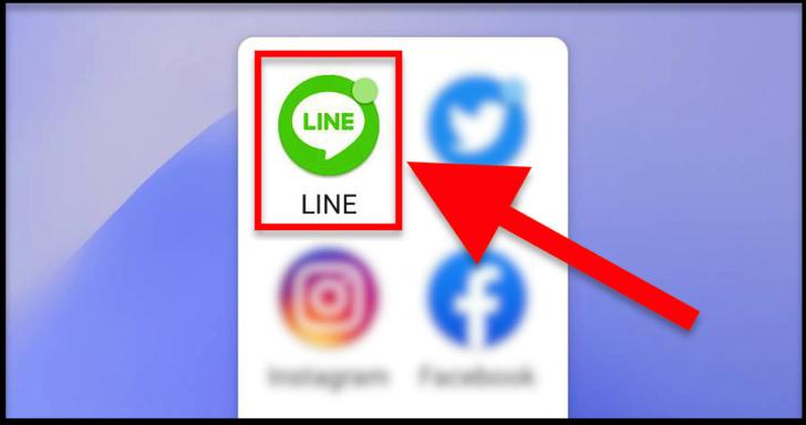 LINEアプリのアイコン(Android)