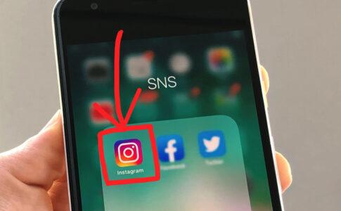 Instagramアプリのアイコン