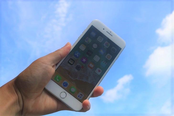 空とiPhone
