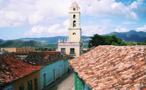 キューバの町並み