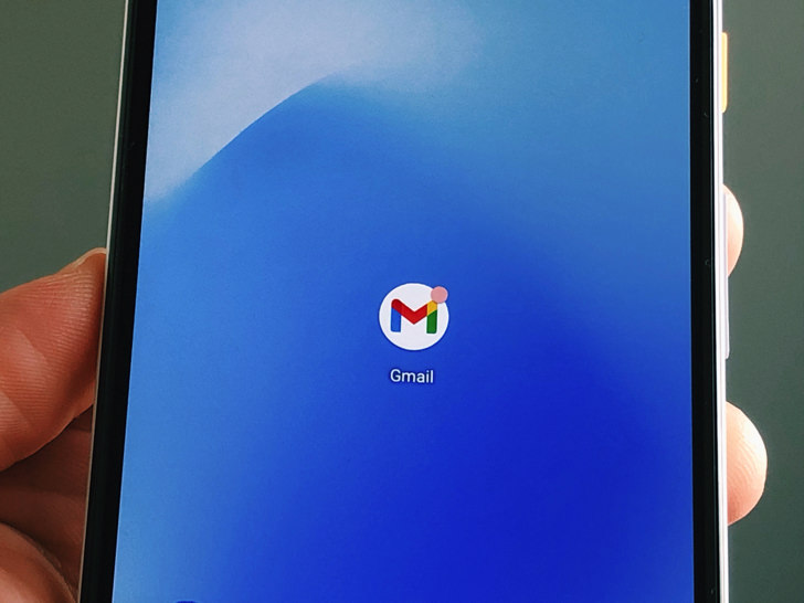 gmailアプリ(Android)