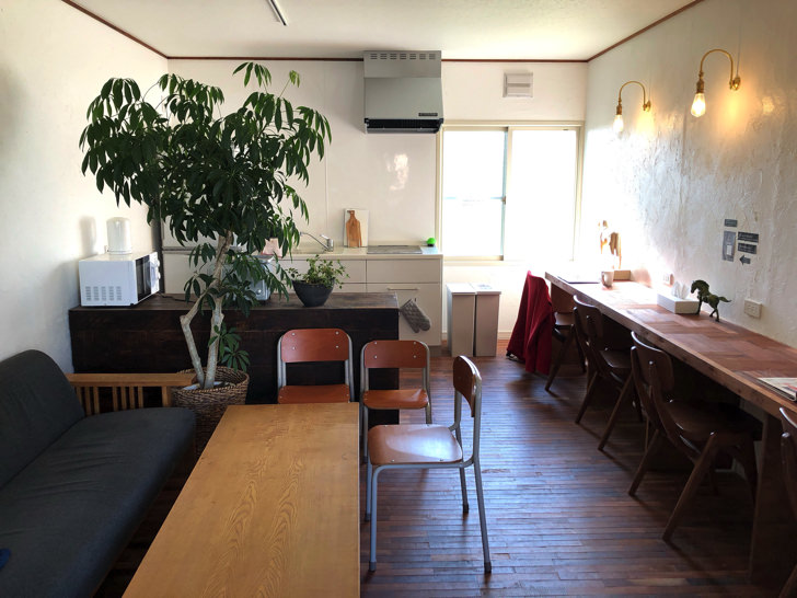 hakuのキッチン・共用スペース