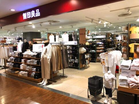 無印良品の店舗(大井町)