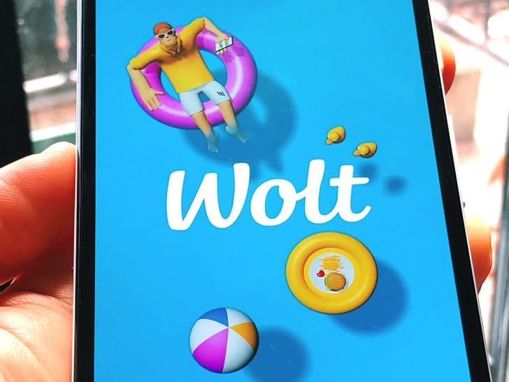 Woltの画面
